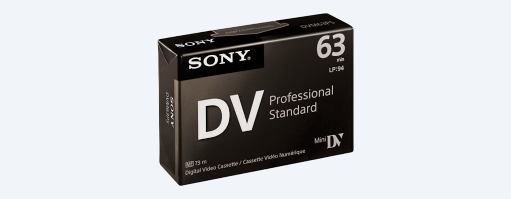 Images of Professional Digital Video Cassette