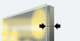 Conventional full-array LED