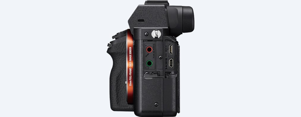 Full-frame camera with 5-axis image stabilization | a7 II | Sony US