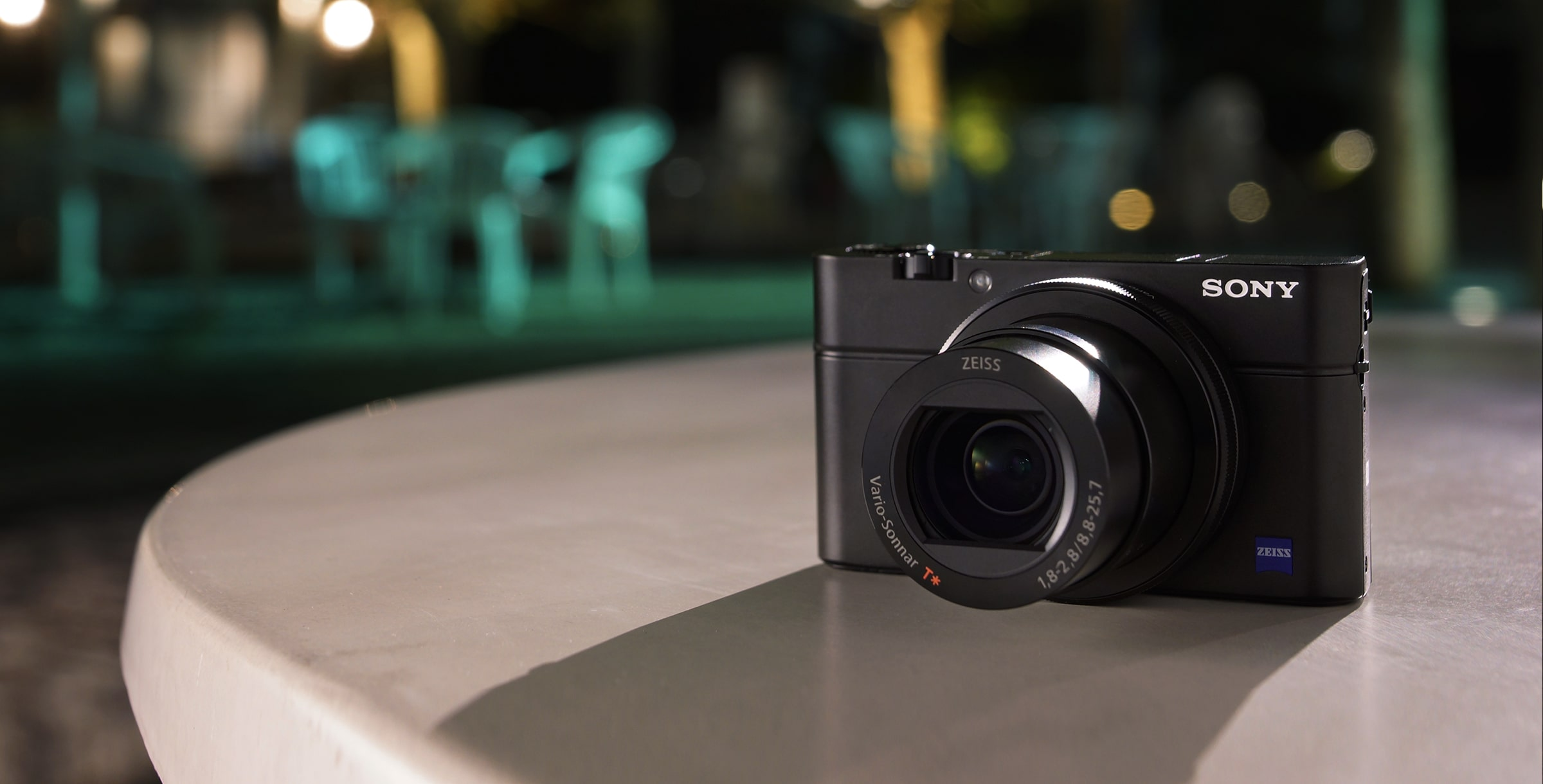 RX100 III Advanced Camera with 1.0 inch sensor in action