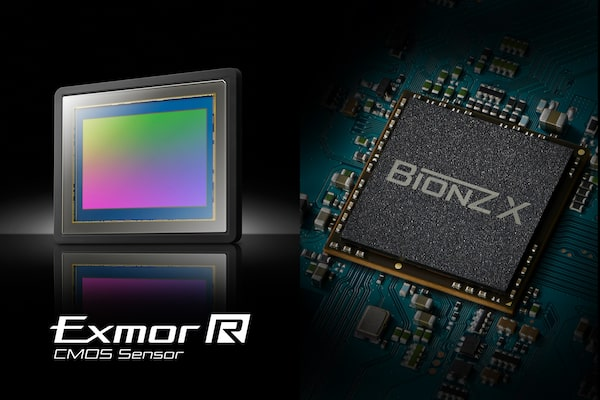 Exmor R™ CMOS sensor and BIONZ X™ image processing engine