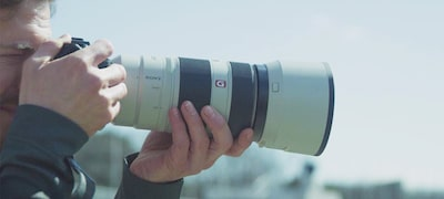 Picture of G Master FE 100-400mm super-telephoto zoom lens