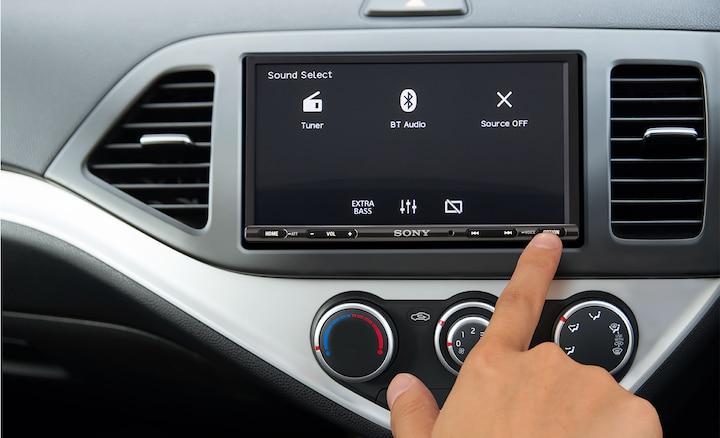 XAV-AX3000 button controls
