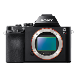 Picture of α7R E-mount Camera with Full-Frame Sensor