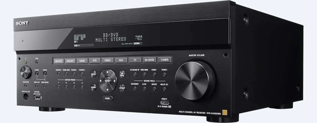 Images of 9.2ch AV Receiver for Custom Installation | STR-ZA5000ES
