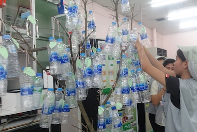Image of Recyclable Waste Donation Tree Project