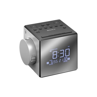 Clock Radio With Time Projector Icf