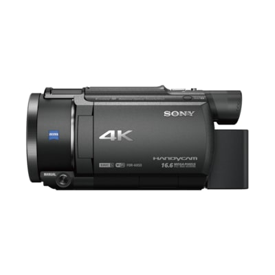 Picture of AX53 4K Handycam® with Exmor R™ CMOS sensor
