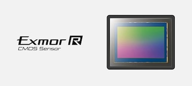 Image of the full-frame Exmor R CMOS sensor