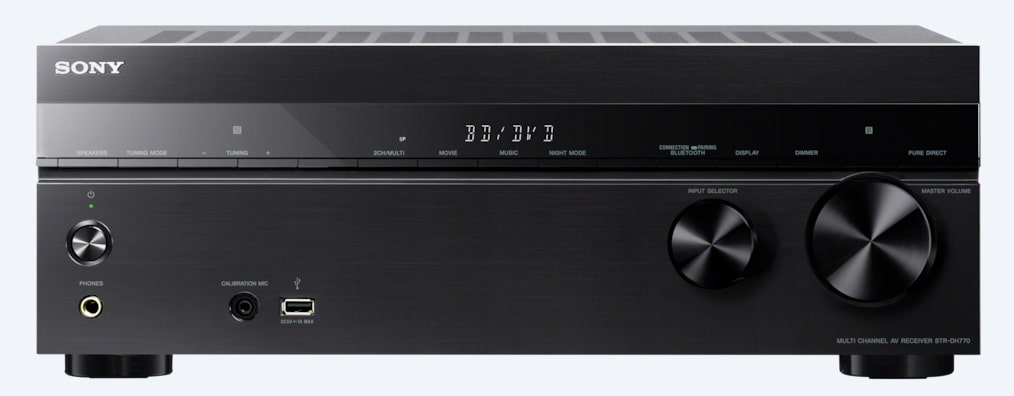 Images of 7.2ch Home Theater AV Receiver | STR-DH770