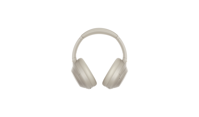 WH-1000XM4 headphones back view white