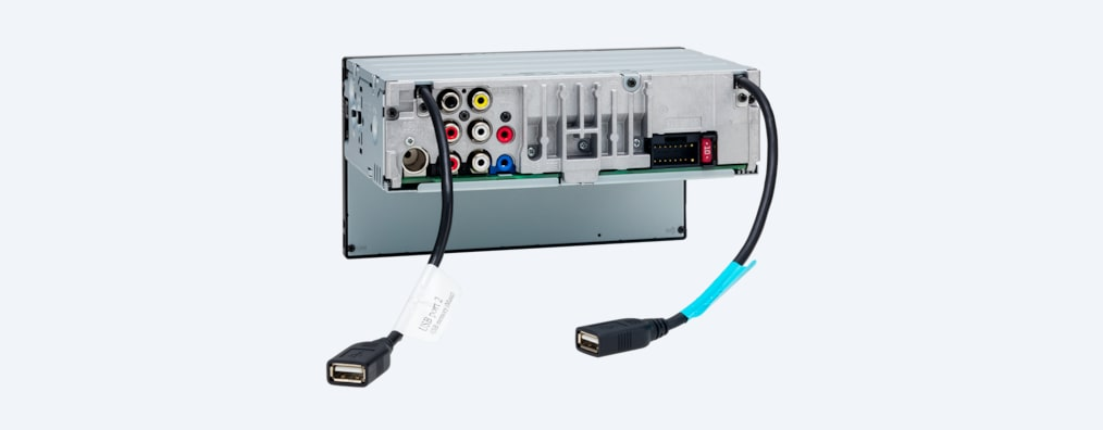 XAV-AX5500 - Back with USB ports