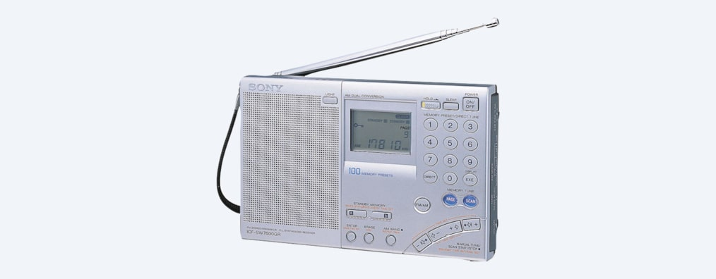 Images of Portable Radio with Speaker