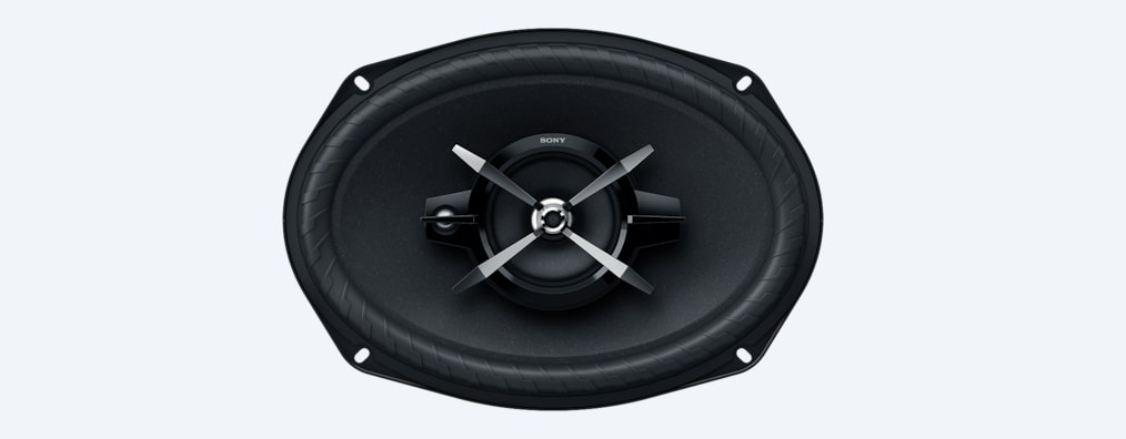 Images of 6 x 9 in (16 x 24 cm) High Power 3-way Speakers