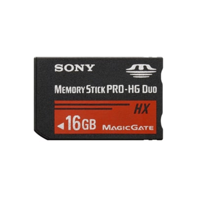 Picture of Memory Stick PRO-HG Duo HX