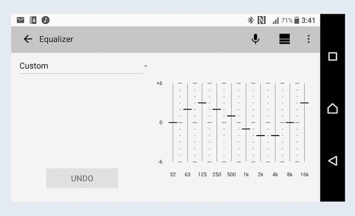 DSX-A410BT 10-band digital equaliser