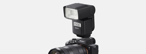For full-scale flash photography