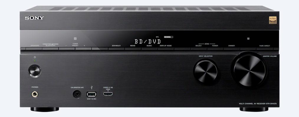 7.2 Channel Home Theater AV Receiver   STR-DN1070   Sony US