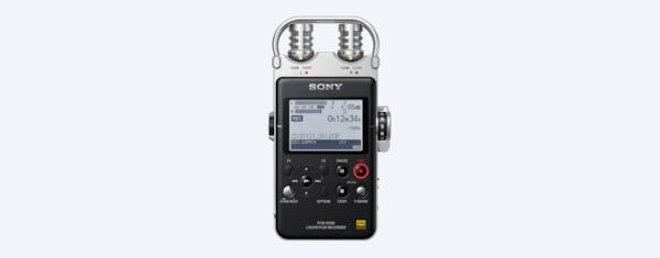 Portable High-Resolution Audio Recorder | PCM-D100 | Sony QA