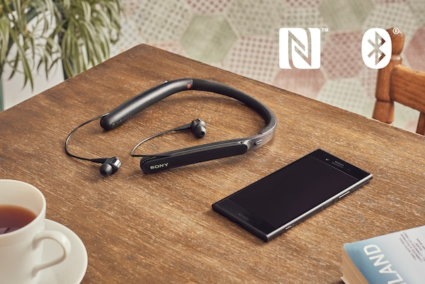 WI-1000X NFC وBLUETOOTH®‎