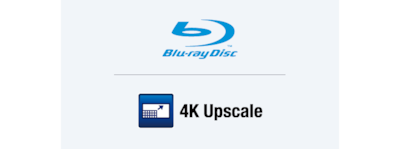 Conversion ascendante 4K et lecteur Blu-ray Disc™