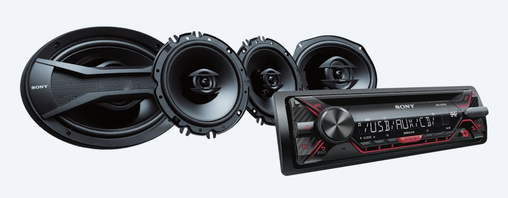 "Images of CD Receiver with 16cm/6x9"" Speakers"