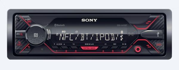 W Ultra Dual Bluetooth Single-Din Car Stereo & CD Player | DSX-A410BT PZ68