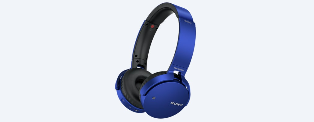 Wireless Deep Bass Headphones With Bluetooth Mdr Xb650bt Sony Us