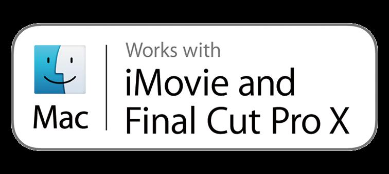 Поддержка iMovie и Final Cut Pro X