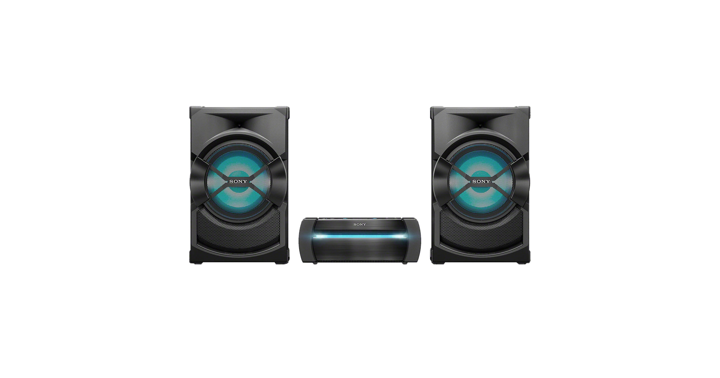 High Power Home Audio System With Bluetooth 174 Technology