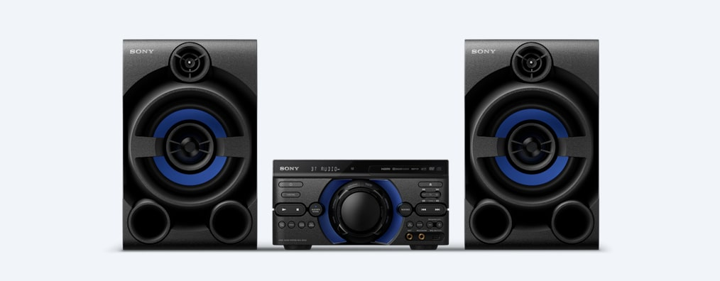 Images de Système audio high-power M40D avec DVD
