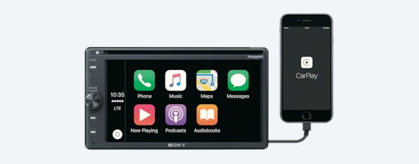 Bluetooth Touch Screen Car Stereo with DVD | XAV-AX200 | Sony US