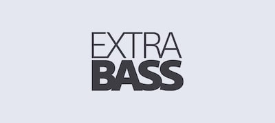 Bring dance music to life with EXTRA BASS™