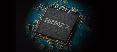 BIONZ™ X for superior detail and texture
