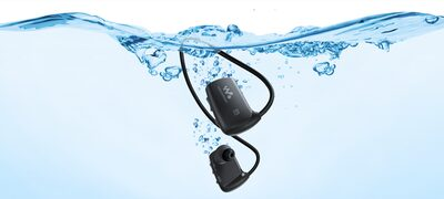 Waterproof design for swimming