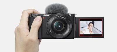 Designed for easy selfie and vlog shoots