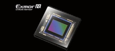 Exmor R™CMOS sensor with enhanced sensitivity