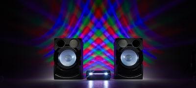 ไฟลำโพง LED สร้างบรรยากาศแบบงานปาร์ตี้