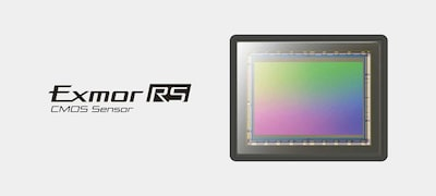 Full-frame stacked CMOS sensor with integral memory