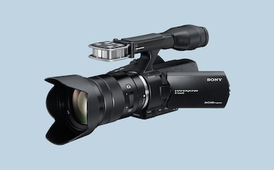 Sony professional video camera