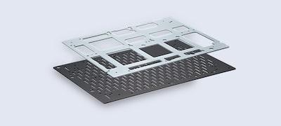 Circuit hibrid de amplificare