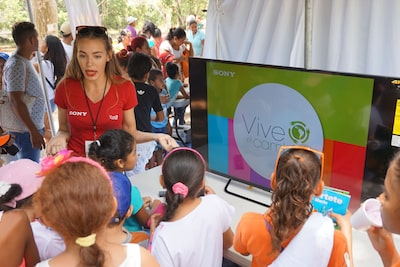 "Sony Inter-American, S.A. was Present at the ""Festi Harpia"" 2017, Supporting the Conservation of Biodiversity"