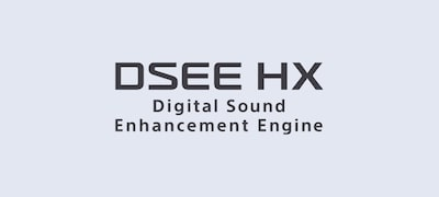 DSEE HX restores your music files