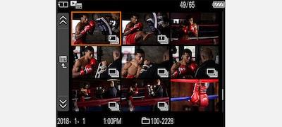 Tăng cường khả năng thao tác trong khi chụp liên tục