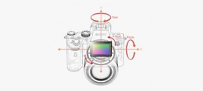 Estabilización de imagen de 5ejes en el cuerpo con alta velocidad de obturación de hasta 5pasos