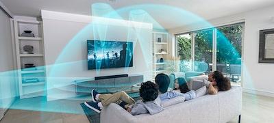 Immersive surround sound from a premium soundbar