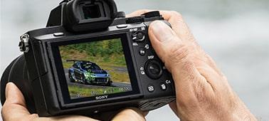 Leistungsstarker und schneller Hybrid-Autofokus