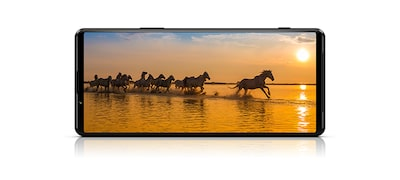 Immerse yourself in a 4K HDR OLED 120Hz Refresh rate display
