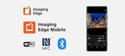 Mở rộng khả năng với Imaging Edge Mobile