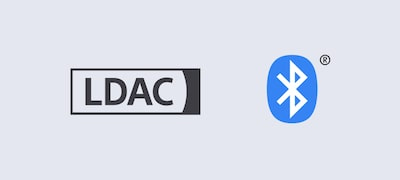 Enjoy high-quality Bluetooth® streaming with LDAC™